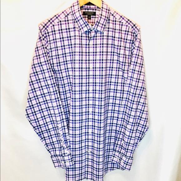 MEN'S NWOT BANANA REPUBLIC Dress Shirt Size L